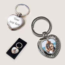 Photo Keyring - Heart